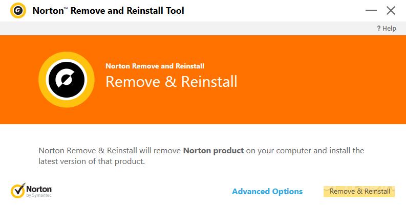 remove norton